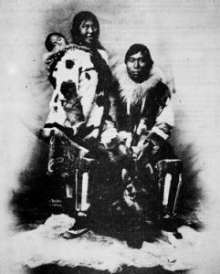 Chukchi tribe developed the first Husky dogs