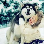 Love Between Siberian Huskies And Children (VIDEO)