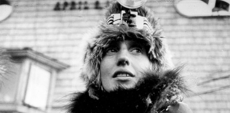 Libby Riddles, the first woman to win Iditarod Trail
